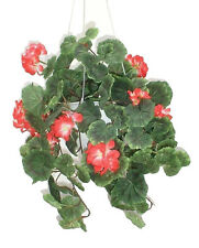"Geranium Ivy - 16"" (41cm) - Artificial Plant Imitation Bush Replica Silk Flowers"