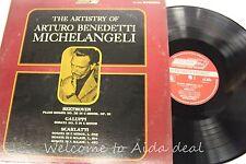 """The Artistry of Arturo Benedetti Michelangeli: Beethoven Sonata (VG) 12"""""""