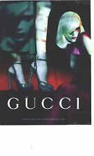 PUBLICITE ADVERTISING 2011  GUCCI chaussures haute couture