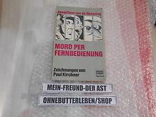 Comic Janwillem van de Wetering - Mord per Fernbedienung BASTEI TB / P Kirchner
