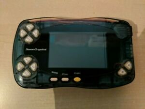 Console System Bandai Wonderswan Color Crystal Black Jap Japan