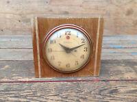 Vintage Electric Alarm Clock Telechron Model 7H139 for Parts or Repair