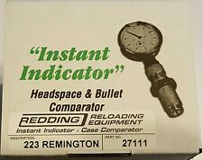 27111 REDDING INSTANT INDICATOR WITH DIAL - 223 REMINGTON - NEW RANGE ADAPTER