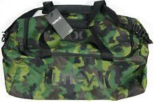 HURLEY Renegade CAMO printed Duffle Bag- NEW- surf/skate GYM travel duffel pack