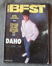 Best magazine 221, springsteen Daho paul young kim wilde iron maiden ect ..