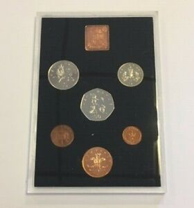 The Royal Mint UK Proof Coin Collection 1978 *Toned*