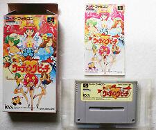 WEDDING PEACH sur Nintendo Super Famicom SNES