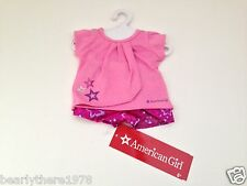 American Girl Sweet Pajamas Set AGP Store Exclusive   NEW in Clear Plastic Bag