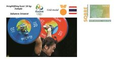 Spain 2016 - Olympic Games Rio 2016 - Gold medal - Weigh Female Thailand cover