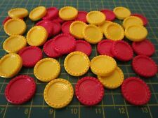 MB Games CONNECT 4 Original Counters [Spares Replacements] Sets of 4-2-1