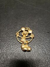 Disney Vintage Mickey Mouse Necklace Charm Pendant Jewelry