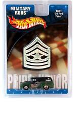 2002 Hot Wheels MILITARY RODS Army '56 Ford Panel