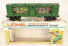 LIONEL 6-9308 VINTAGE OPERATING ANIMATED AQUARIUM CAR-LN IN ORIG. BOX!