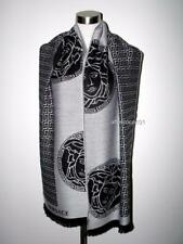 VERSACE Large/Long Medusa Wool Scarf New MADE IN ITAL