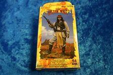 54mm  Andrea  CUSTER  7th cavalry apache warrior  STOCK # S4-F18