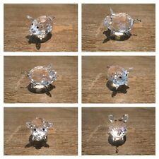 Swarovski Crystal, Medium Pig # 7638 NR 050 000 (Retired)