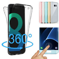 360° Full TPU Case Cover Étui Silicone Transparent Housse Coque Anti-choc Cover