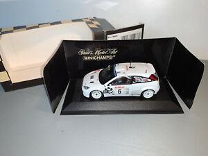 RALLY 1/43 MINICHAMPS FORD FOCUS RS WRC MIKKO HIRVONEN MONTE CARLO 2003 RARE