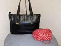 New Zenith for Nordstrom's Leather Handbag Shoulderbag Satchel w/ BONUS BAG