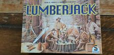 LUMBERJACK game:by A.(Ticket to Ride) Moon;very rare,OOP: build best log pile!