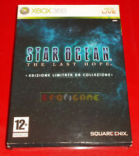 STAR OCEAN THE LAST HOPE EDIZIONE LIMITATA XBOX 360 Italiano ○ COMPLETO - FG