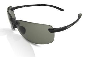 Serengeti 8815 Ceriale Men's Folding Sunglasses Matte Black/Grey