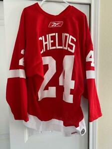 Chris Chelios Game Used 2005-06 Detroit Red Wings Hockey Jersey