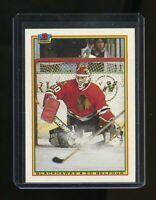 1990-91 Bowman #7 Ed Belfour Chicago Blackhawks Rookie Card