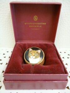 Staffordshire Enamels, Cat Pill Box