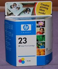 Genuine HP 23 Tri-Color Inkjet Print Cartridge C1823D - New Sealed