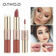 O.TWO.O 12 Colors Lips Makeup Lipstick  Lip Gloss Long Lasting Moisture