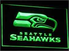 New NFL Football Seattle Seahawks LED Neon Signs Light Bar Man Cave 7 colors