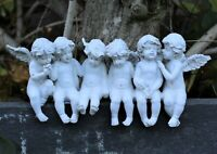 Garden Ornament Magical Fairy Angel Cherub Figurine Statue Home Decor