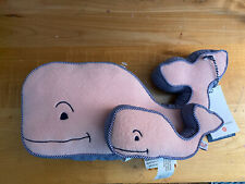 New Vineyard Vines for Target Baby Plush Whale Stuffed Animal & Rattle Set