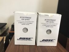 2 bose acoustimass/lifestyle speakers in excellent condition,free express ship