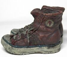 COLLECTIBLE MINIATURE RUNNING SHOES BY POPULAR IMPORTS, DISTRESSED LOOK & DETAIL