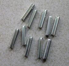 10 Spannstifte Spannhülsen 3 x 16 mm DIN1481 Federstahl