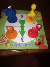 Sesame Street Chutes And Ladders Replacement Pieces  Elmo Big Bird Zoey