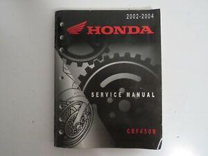 Genuine Honda Dealer Factory Service Repair Manual 2004-2009 CRF250X CRF 250X