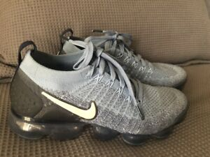 Like new! Nike Air VaporMax Flyknit 2 Womens Work Blue sneakers US8.5 / 25.5cm
