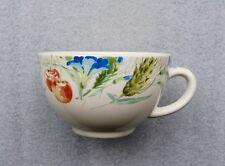 Tee / Kaffeeobertasse Gien France  Blumen Früchte Top