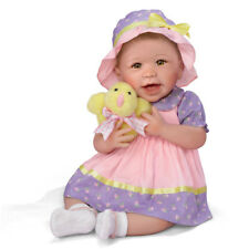 SO TRULY ASHTON DRAKE ABIGAIL BABY DOLL FIRST EASTER LINDA MURRAY 18""