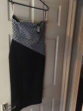 BNWT Womens River Island Strapless Dress. Size 10