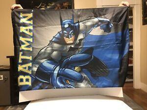 "Six Flags Batman Flag 42"" By 28"""