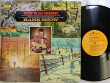 Country Lp Hank Snow Snow In All Season On Rca Victor