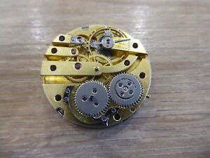 INTERESTING ANTIQUE FOB / POCKET WATCH MOVEMENT