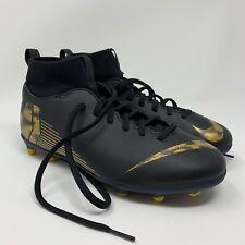 Nike Mercurial JR Superfly 6 Club FG/MG Kids Boys Girls Soccer Cleats Size 6Y