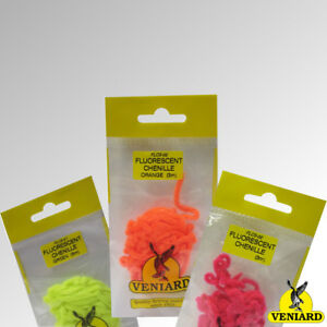 Veniard Fluorescent Chenille 3m Pack Available in 5 Colours (FLCS)