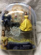 New In Box Disney Beauty And The Beast Enchanted Rose Scene-Bella -Doll