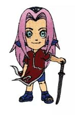 Naruto Sakura Standing W/ Weapon Patch GE Cosplay AUTHENTIC LICENSED PRODUCT NEW